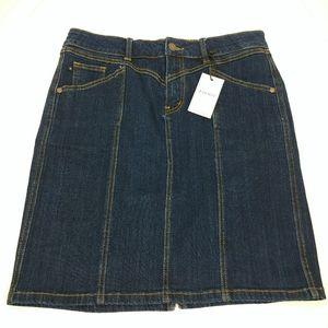 Judy Blue Denim Skirt Size Large NWT
